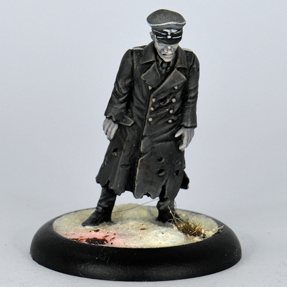 GZ02-WWII GERMAN ZOMBIE OFFICER