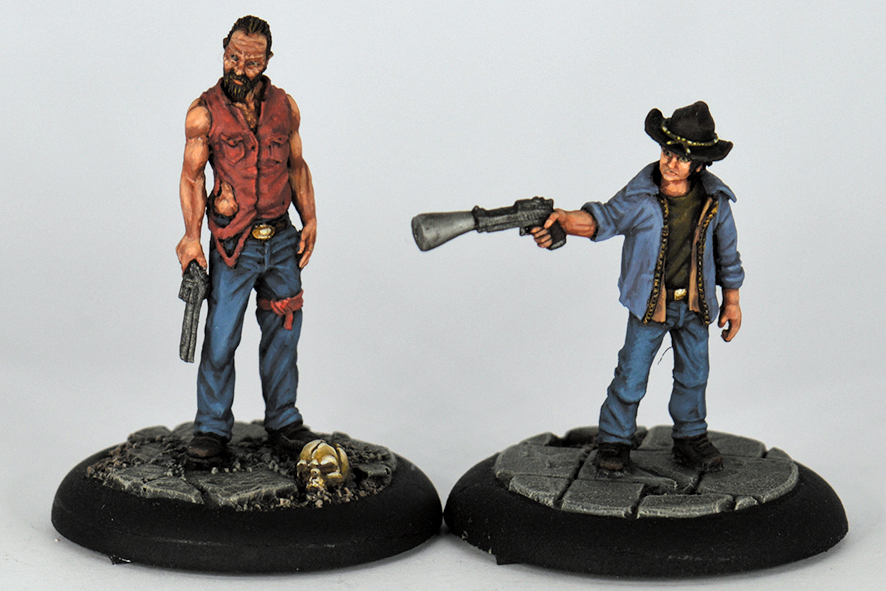 ANDY & CHANDLER (RESIN)
